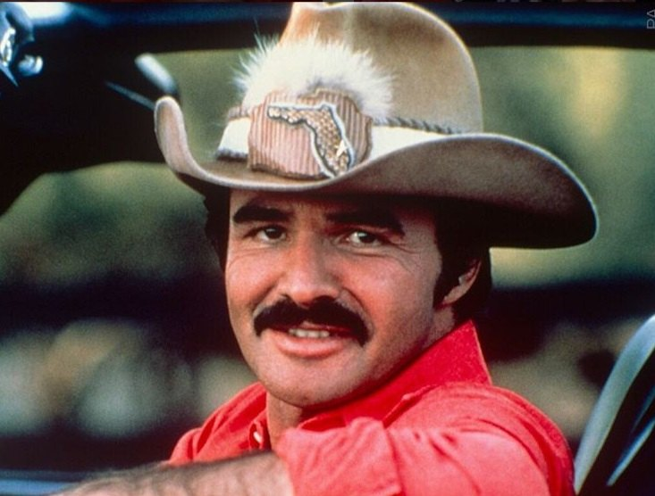 Burt Reynolds in 'Smokey and the Bandit'