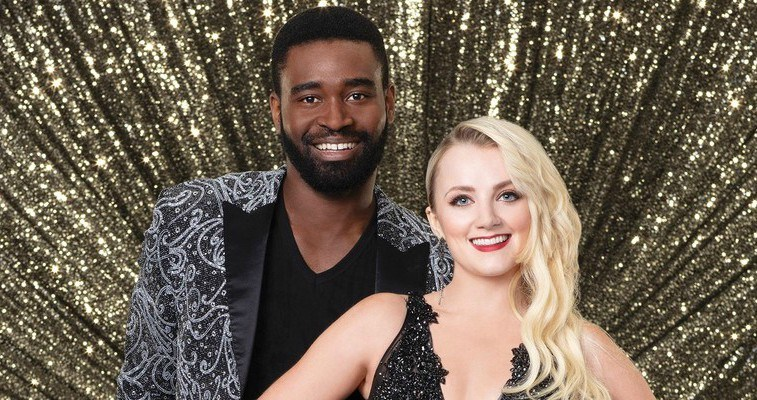 Evanna Lynch and Keo Motsepe on Dancing with the Stars