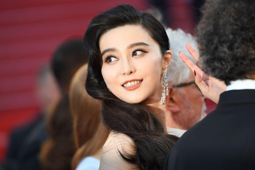 Actress Fan Bingbing at the 70th annual Cannes Film Festival