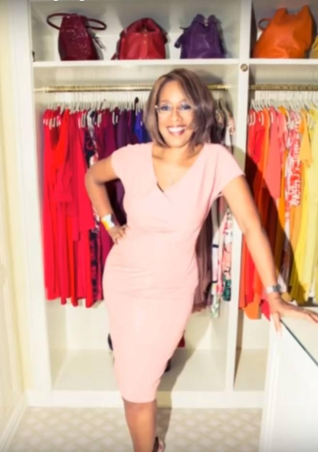 TV anchor Gayle King