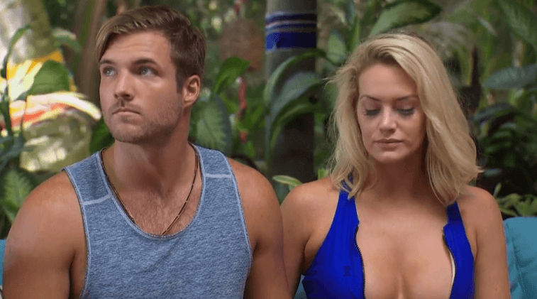 Jordan Kimball and Jenna Cooper in Bachelor in Paradise