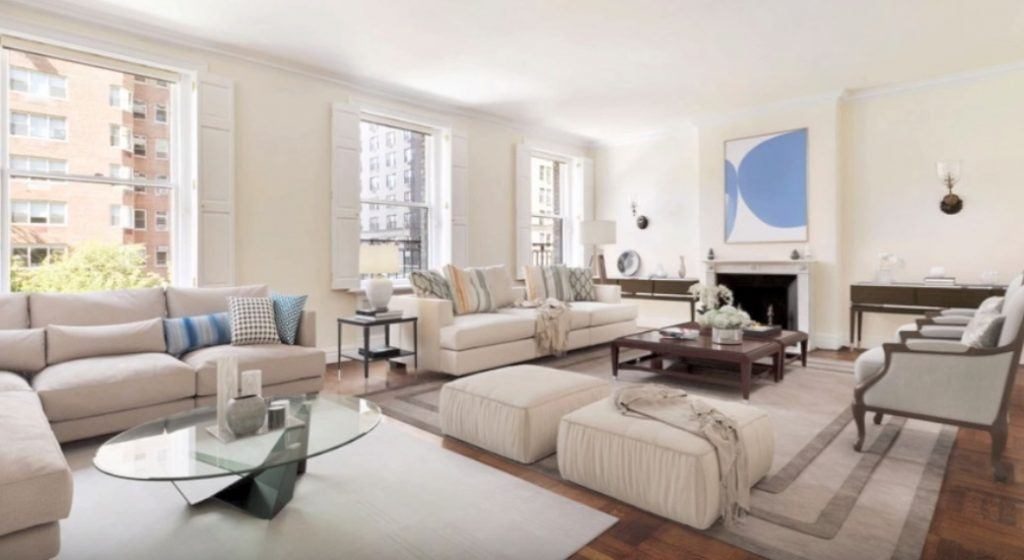 Inside Katie Couric's penthouse