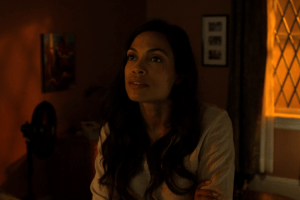 Rosario Dawson Talks Voicing Wonder Woman and Taking a Break from Claire Temple