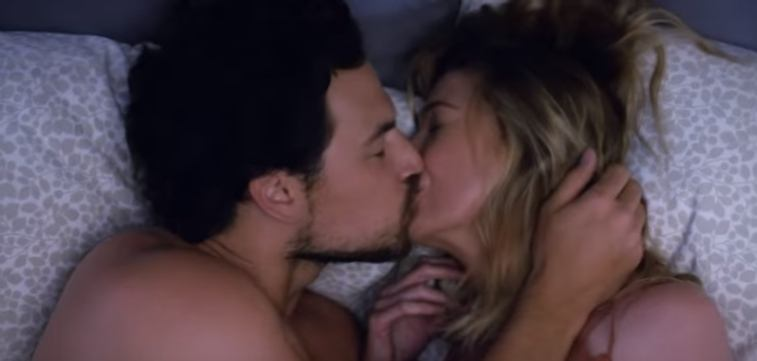 Meredith Grey and Andrew DeLuca in Grey's Anatomy