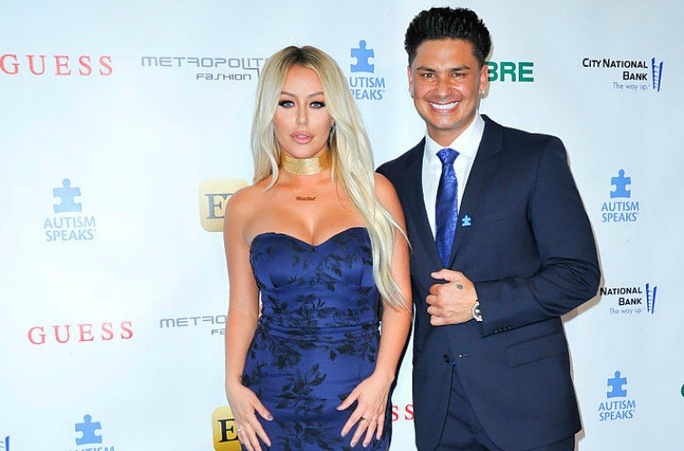 Aubrey O'Day and Pauly D