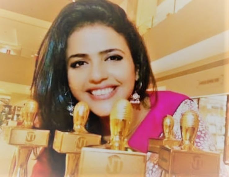 News anchor Sweta Singh