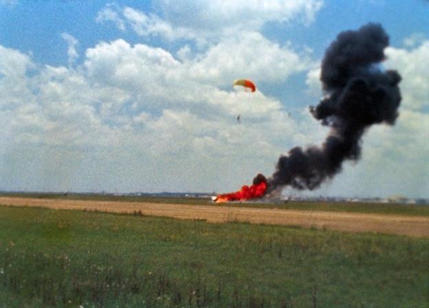 Armstrong Training Crash