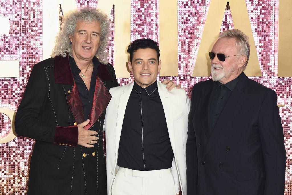 Brian May, Rami Malek, Roger Taylor, Bohemian Rhapsody