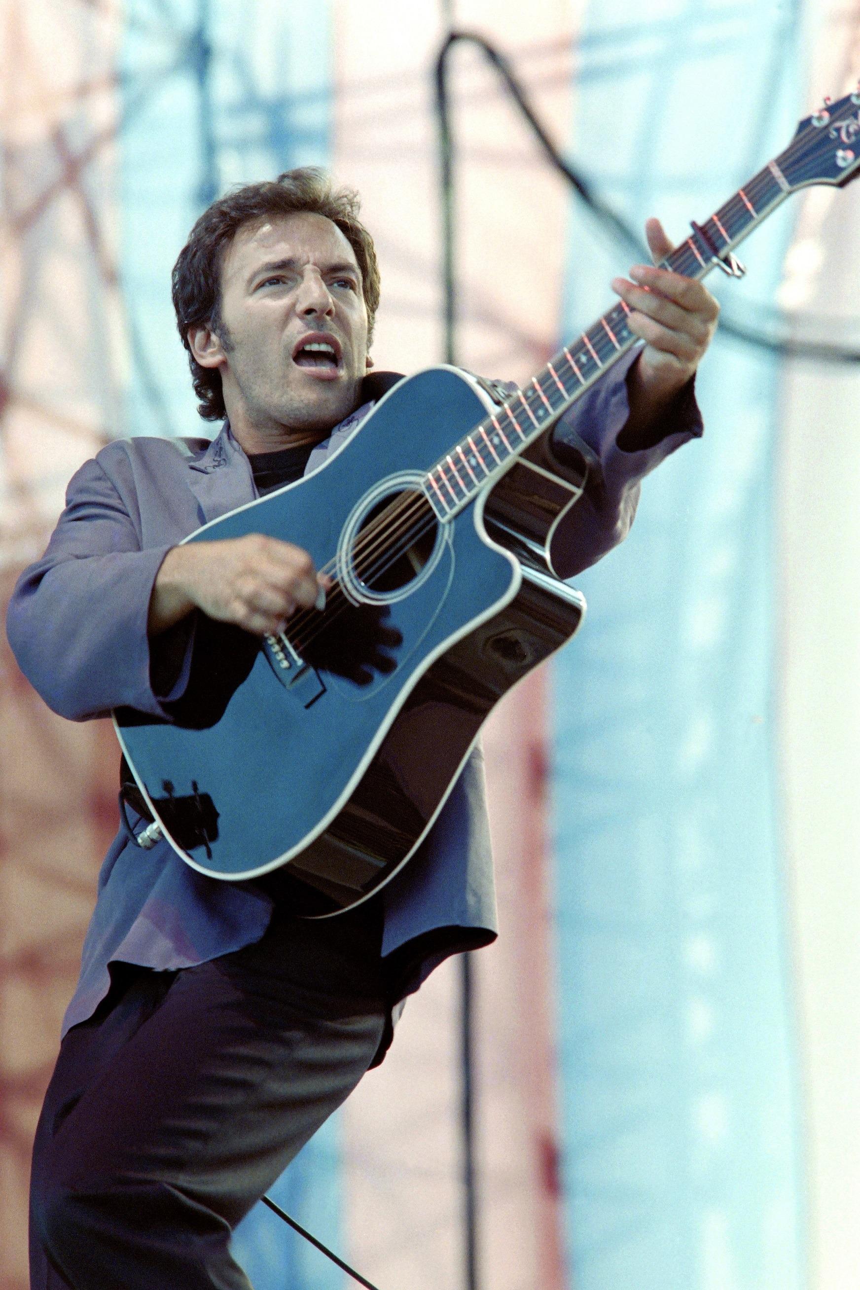 Bruce Springsteen in Paris