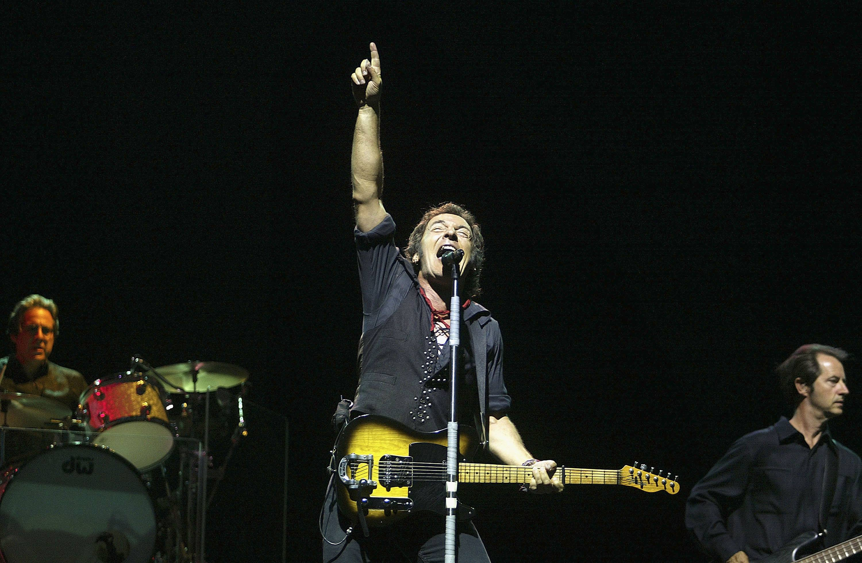 Bruce Springsteen and the E Street Band at Giants Stadium on July 21, 2003
