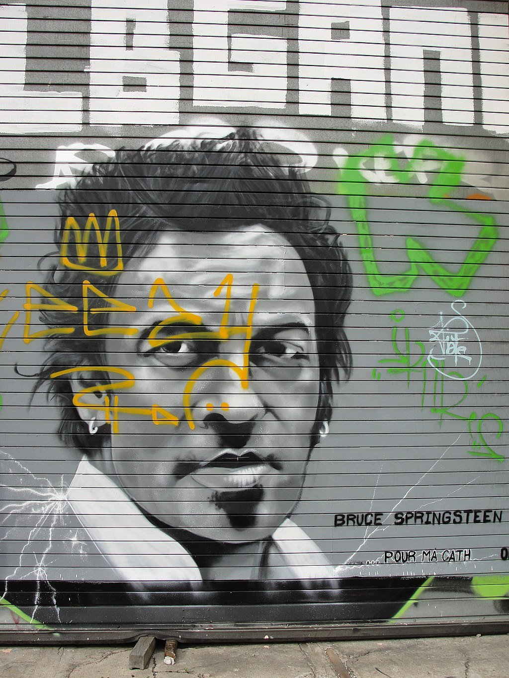 Bruce Springsteen graffiti