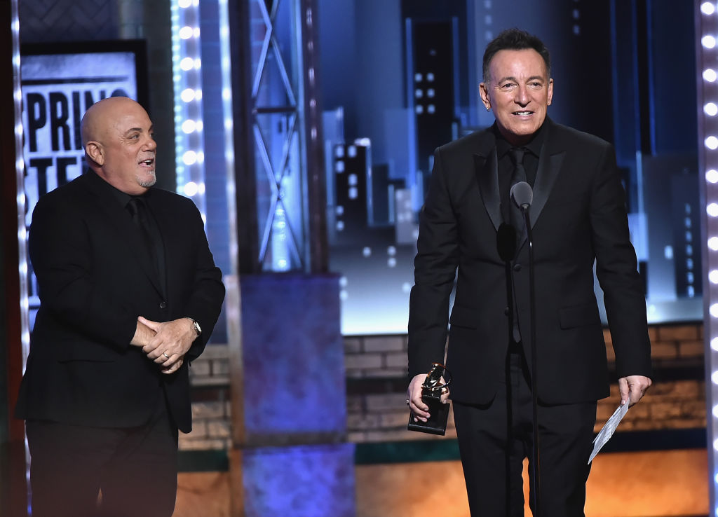 Bruce Springsteen wins Tony Award 2018, Billy Joel presents