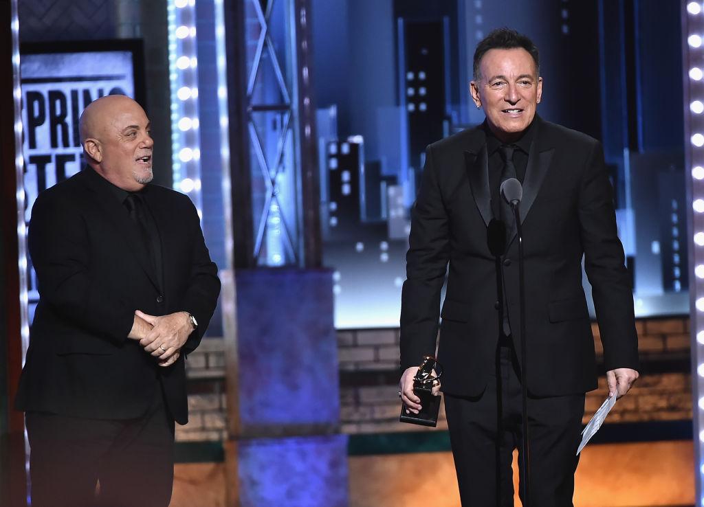 Bruce Springsteen wins Tony Award 2018, Billy Joel presents