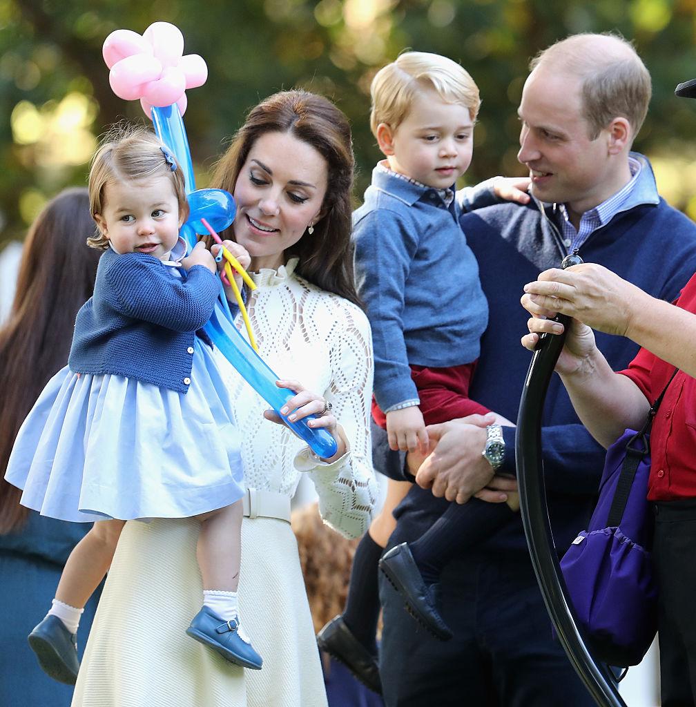 Kate Middleton, Prince William, Princess Charlotte, Prince George