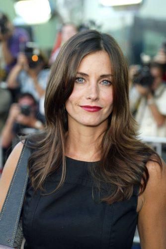 Courteney Cox at the premiere of 'The Good Girl' in 2002