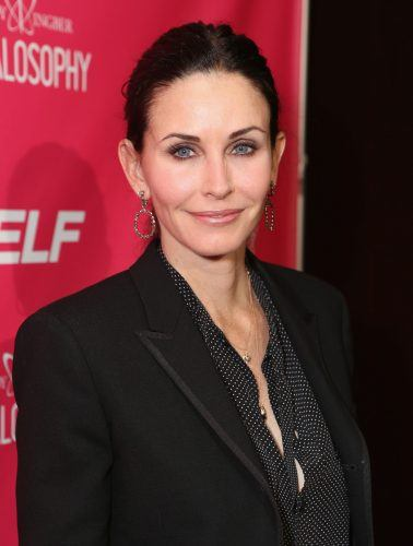 Courteney Cox attends SELF Magazine and Jennifer Aniston's celebration of Mandy Ingber's new book