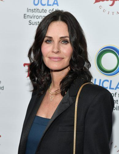 Courteney Cox attends UCLA's 2018 Institute of the Environment and Sustainability Gala