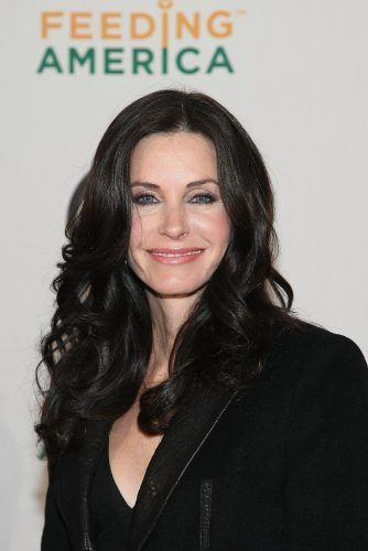 Courteney Cox attends the RIAA and Feeding America's Inauguration Charity Ball in 2009