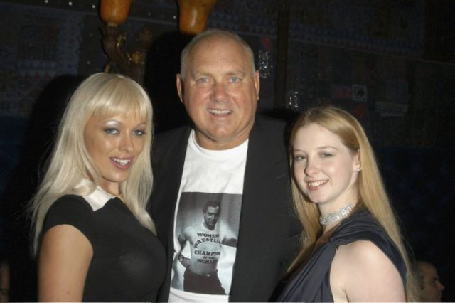Dennis Hof and Bunny Ranch hostesses