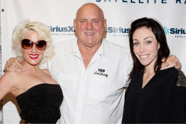Dennis Hof with Cami Parker and Heidi Fleiss