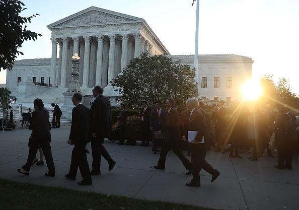 Supreme Court in session