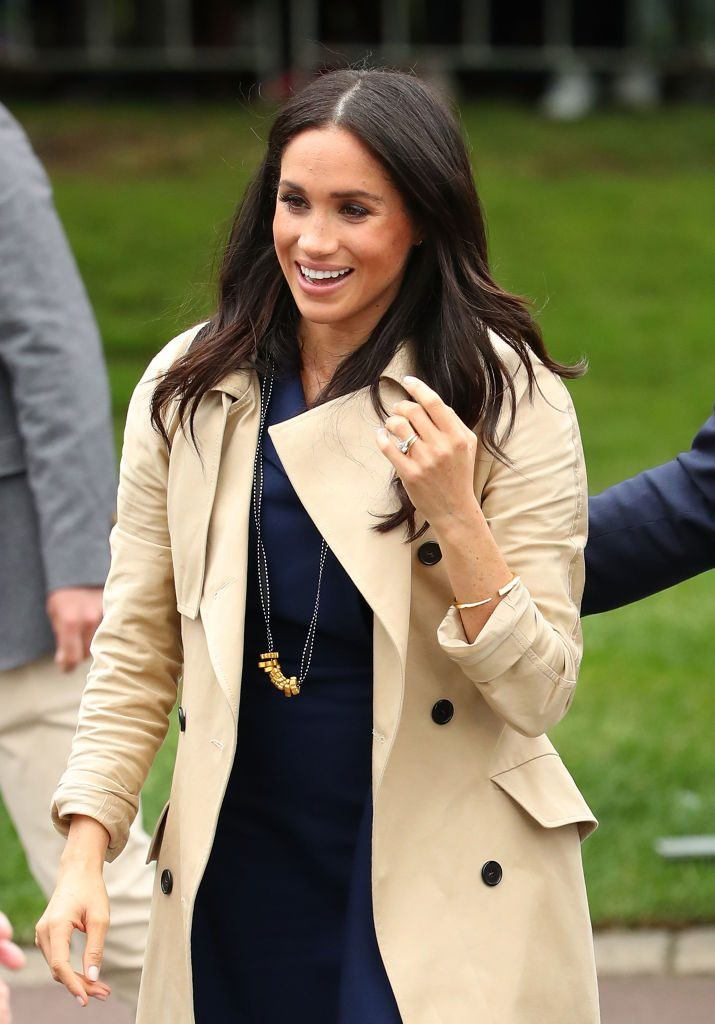 GettyImages-1052431054-715x1024 Does Meghan Markle Really Do Her Own Hair and Makeup? - The Cheat Sheet