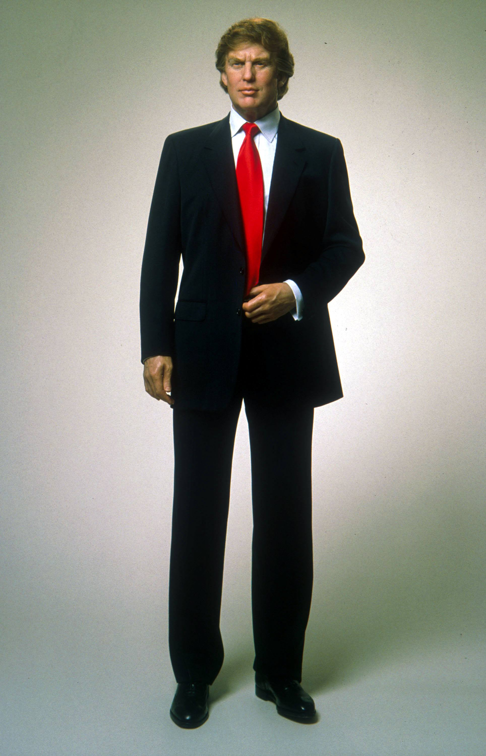 Wax statue of Donald Trump