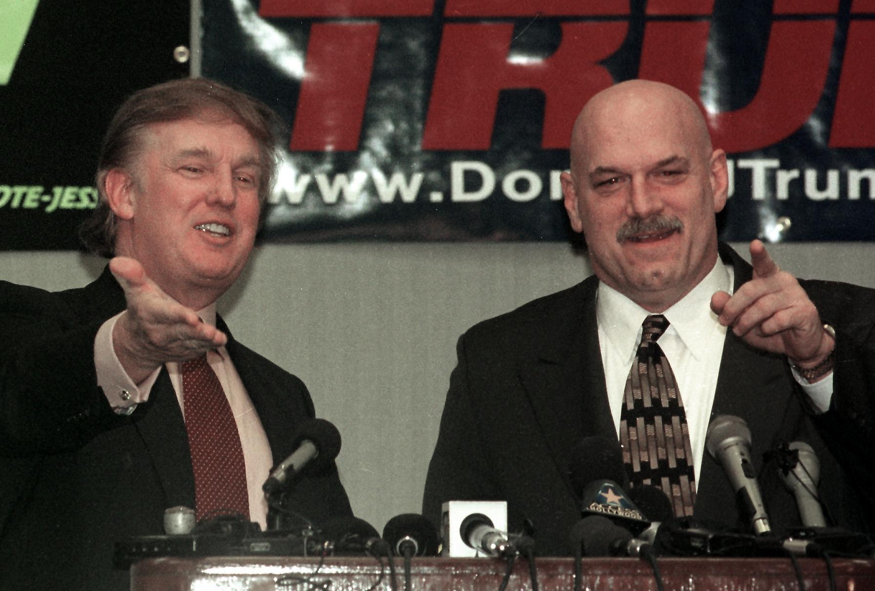 Donald Trump and Jesse Ventura