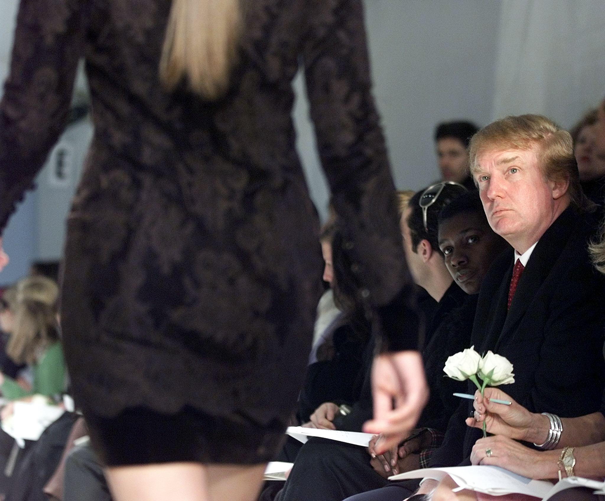 Donald Trump at Fashion Week