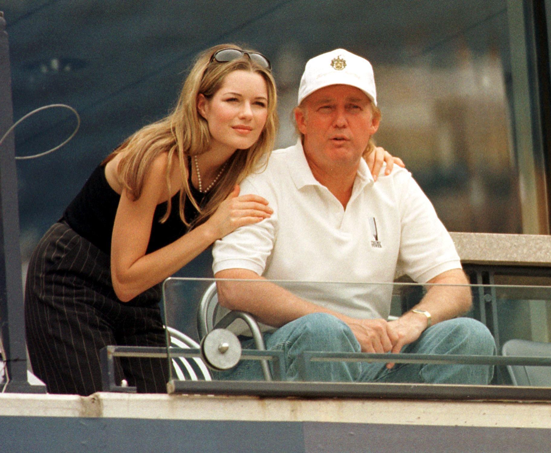 Donald Trump and girlfriend
