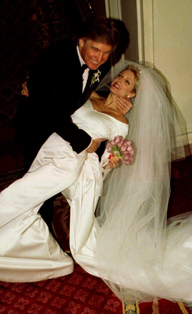 Donald Trump weds Marla Maples