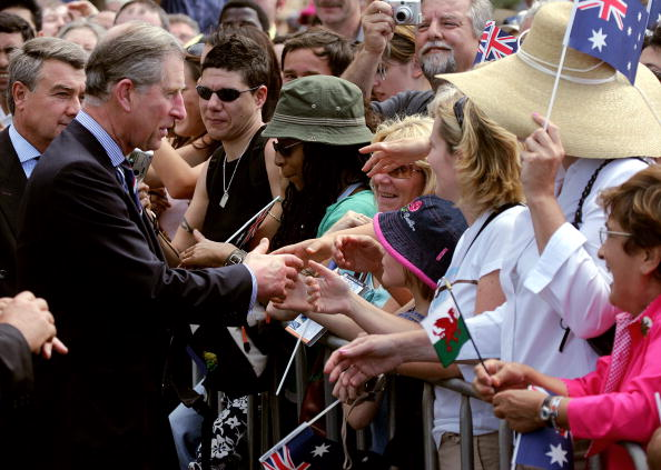 Prince Charles on a tour