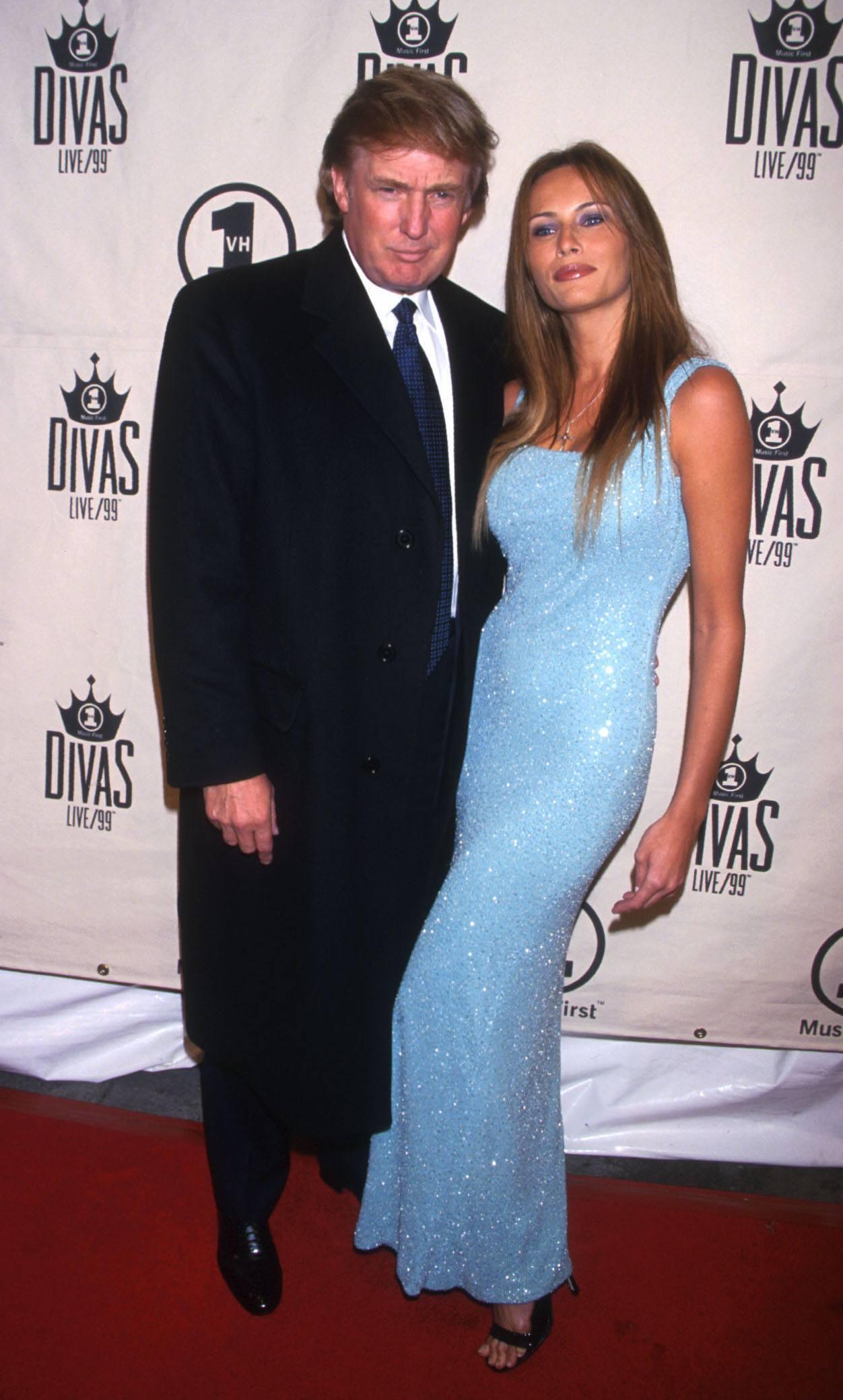 Donald Trump and Melania Knauss