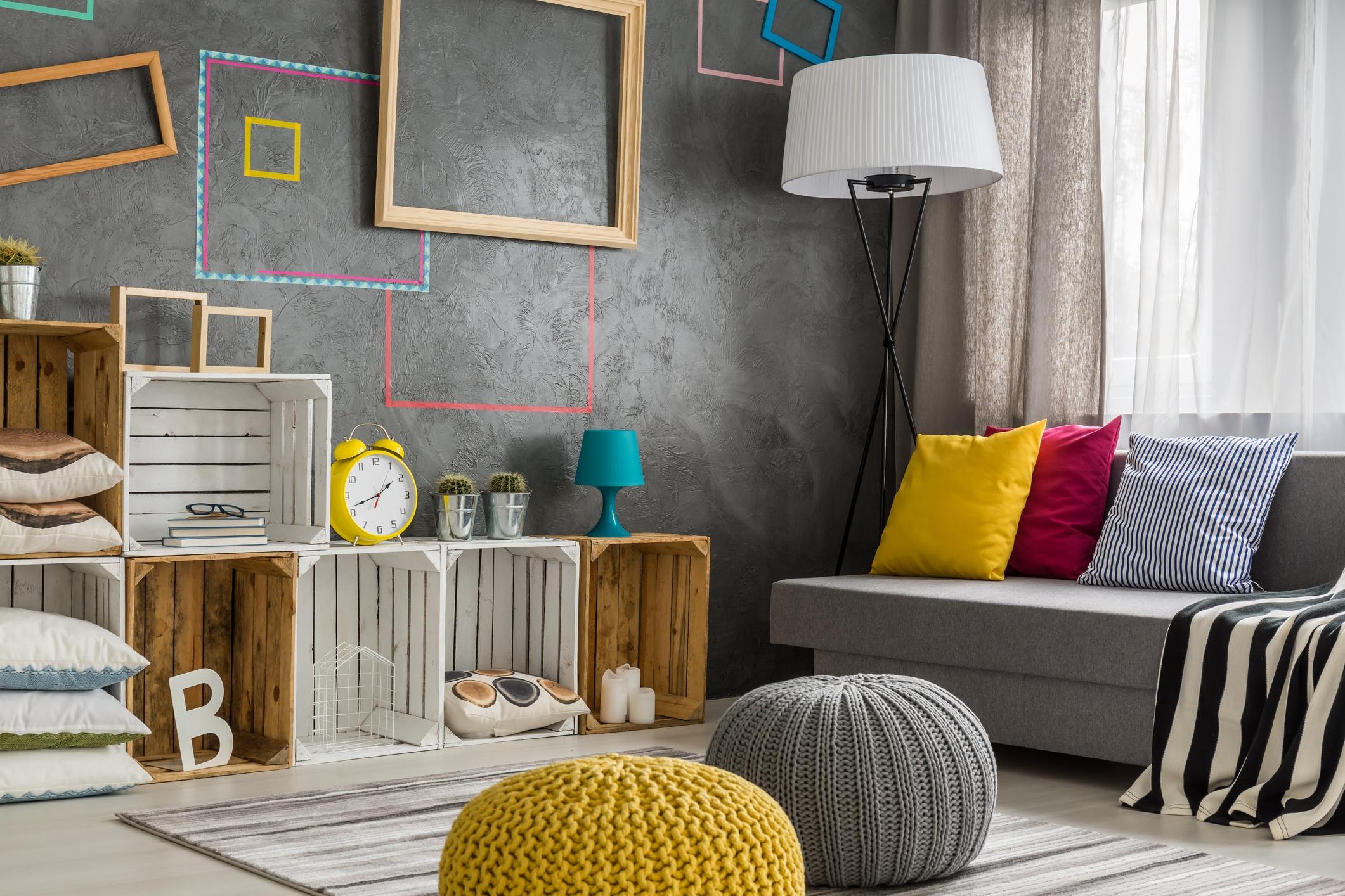 DIY living room style
