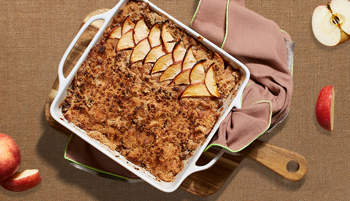 HelloFresh apple ginger crisp