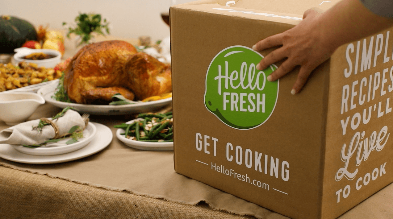 HelloFresh Thanksgiving box