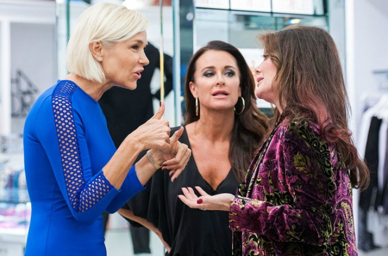Yolanda Foster, Kyle Richards, Lisa Vanderpump