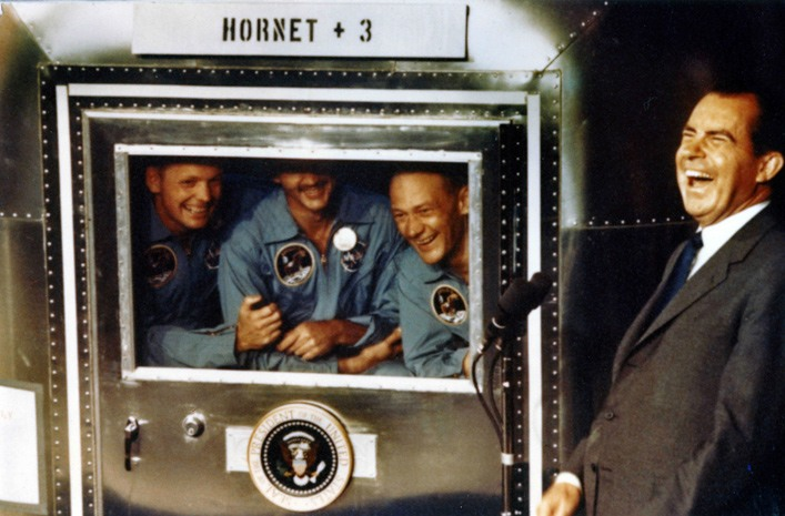 Nixon with Apollo 11 astronauts