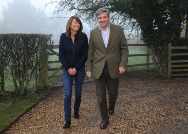 Parents of Kate Middleton, Michael and Carole Middleton