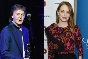 Emma Stone Has a Dance Rehearsal for an Upcoming Paul McCartney Music Video