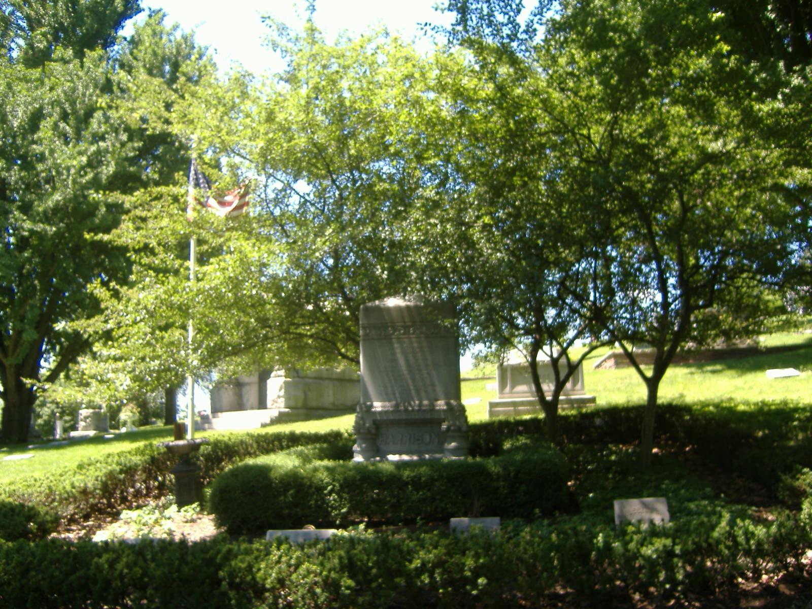 Benjamin Harrison grave
