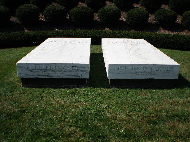 Herbert Hoover tomb in Iowa