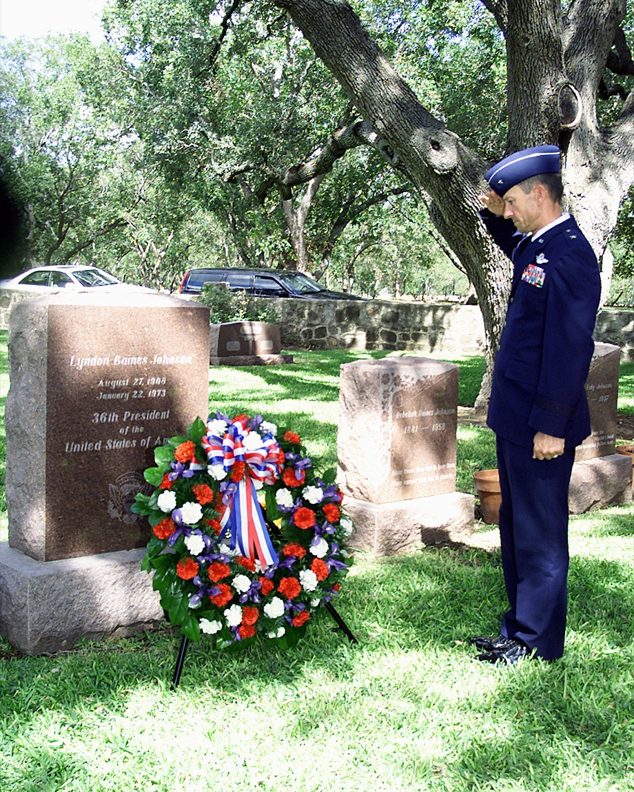 Presidential burials Lyndon B. Johnson Texas