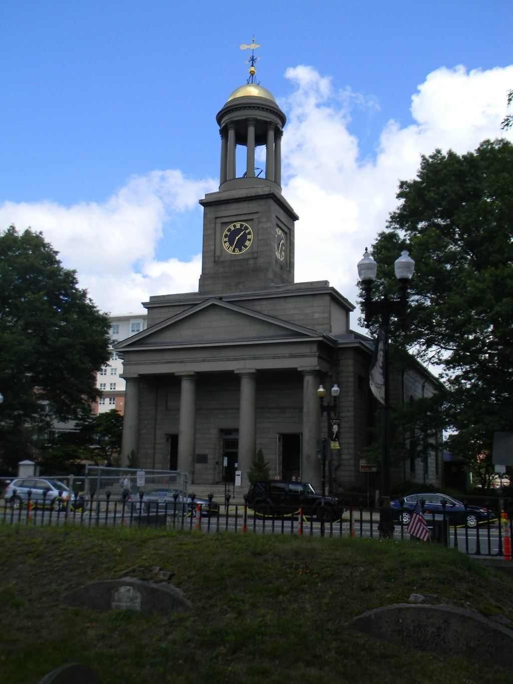 United First Parish Church in Quincy, Massachusetts.