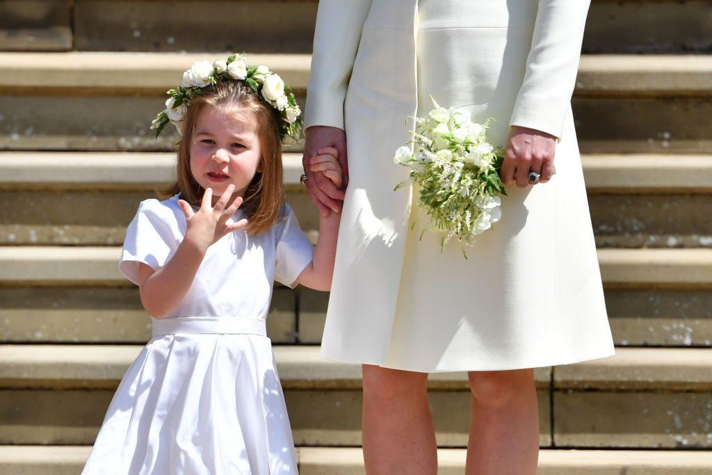 Princess Charlotte's personality is a tad bossy, according to her mother.