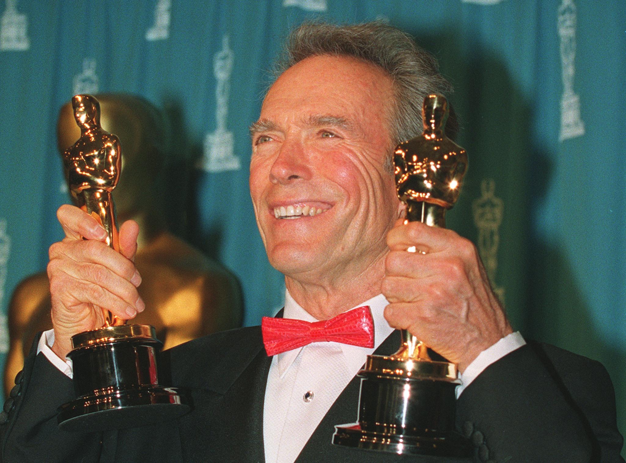Actor/director Clint Eastwood