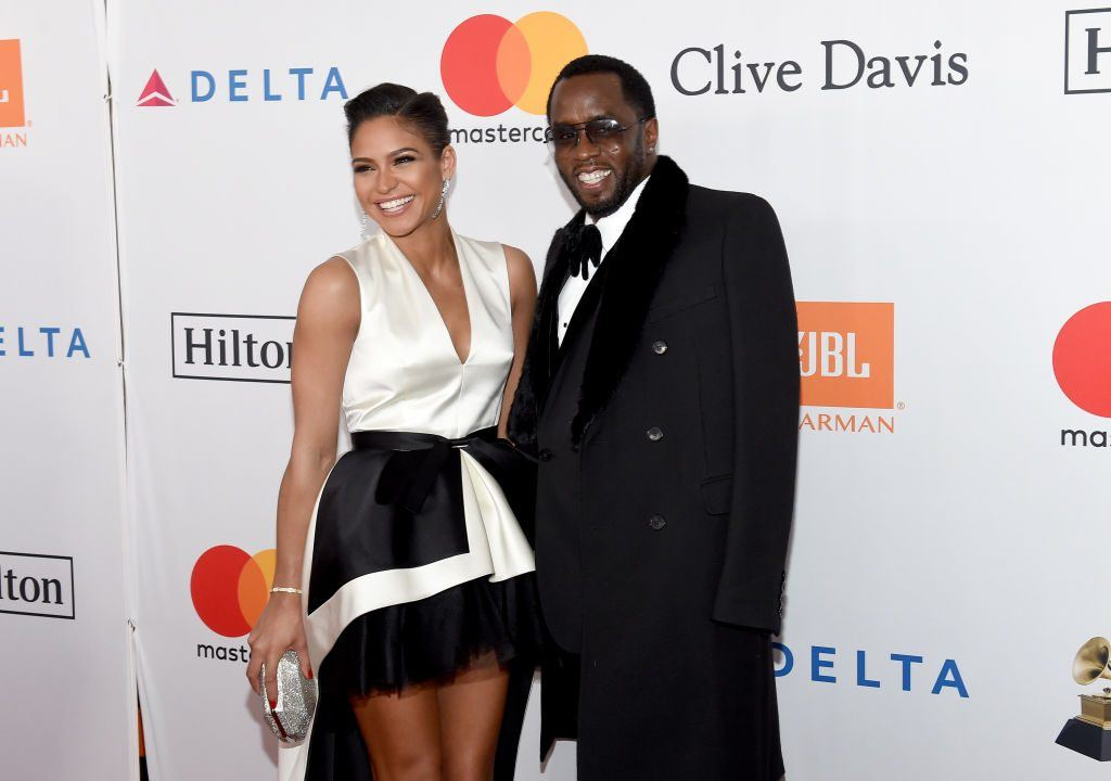 "Actor Cassie Ventura (L) and recording artist-producer Sean ""Diddy"" Combs"