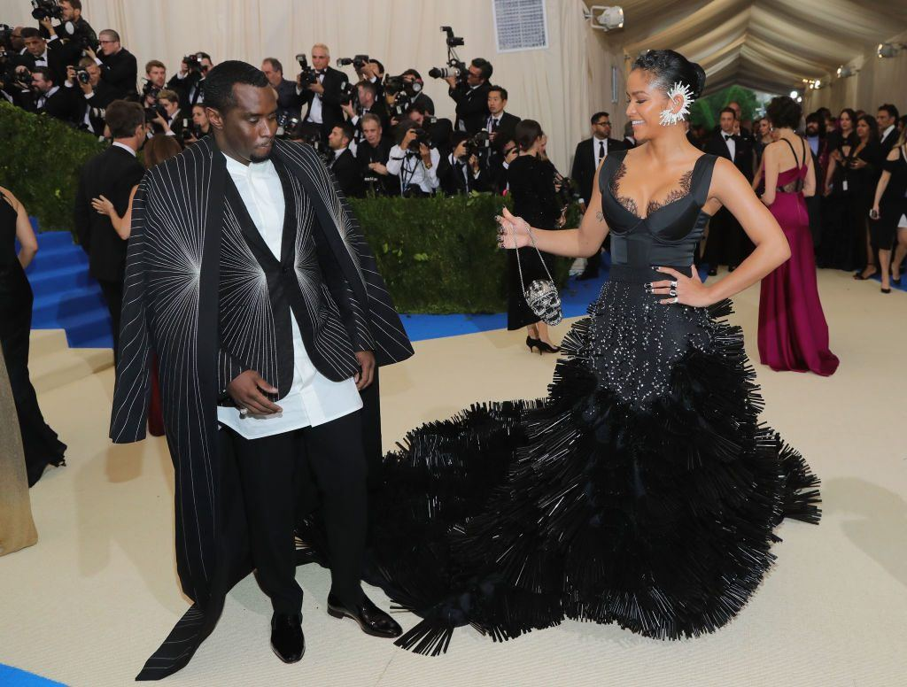 Sean Combs and Cassie Ventura