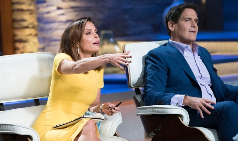 Bethenny Frankel and Mark Cuban