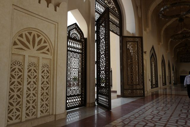 State Grand Mosque in Doha, Qatar